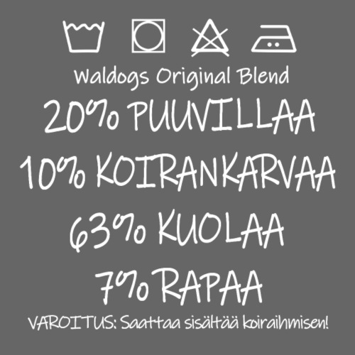 Waldogs O Blend Kuola - Miesten premium t-paita