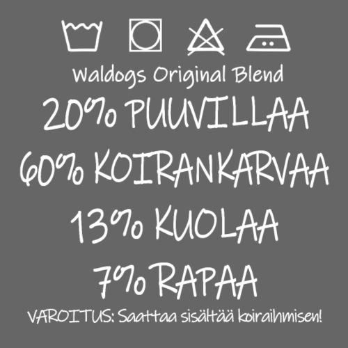 Waldogs O Blend II - Miesten premium t-paita