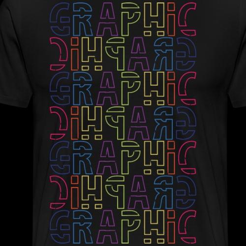 Graphic - Men's Premium T-Shirt