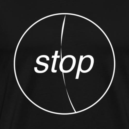 Stop - Camiseta premium hombre