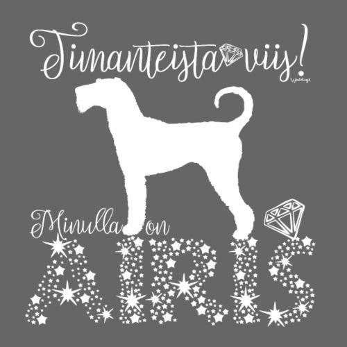 Airedale Dimangit 01 - Miesten premium t-paita