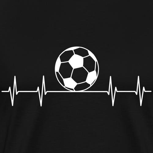 Fußball Puls - Männer Premium T-Shirt
