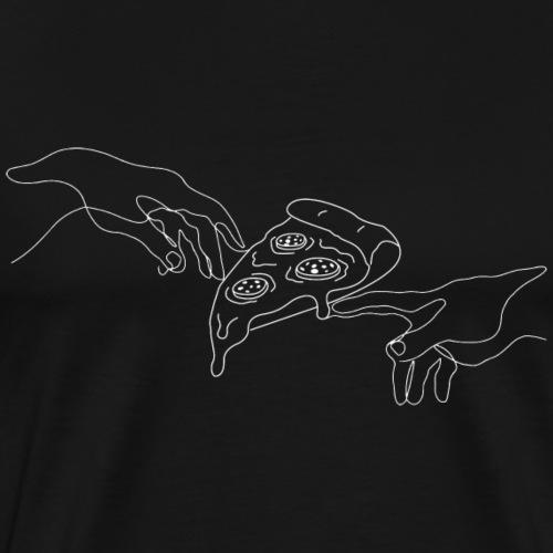 La création de la pizza - T-shirt Premium Homme