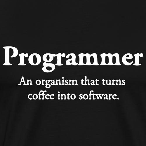 Programmer - Premium-T-shirt herr