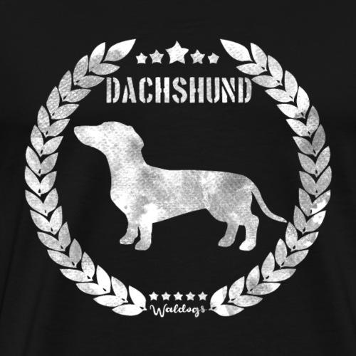 Dachshund SH Army - Men's Premium T-Shirt