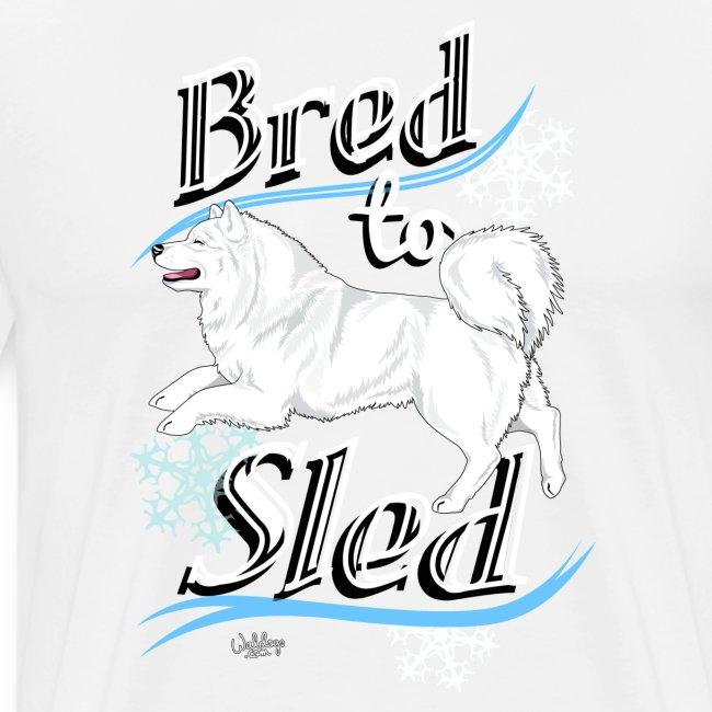 Samoyed Sled