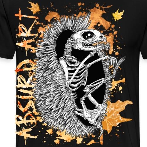 Knochentierchen Igel von Absurd ART - Männer Premium T-Shirt