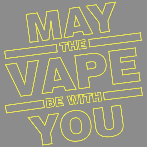 May the Vape be with you - Männer Premium T-Shirt