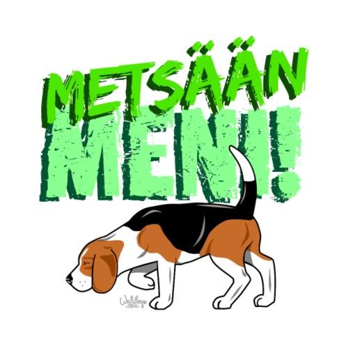 beaglemetsaanmeni - Miesten premium t-paita