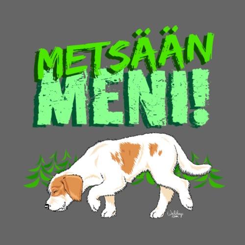 Istrianajokoira Metsään - Miesten premium t-paita