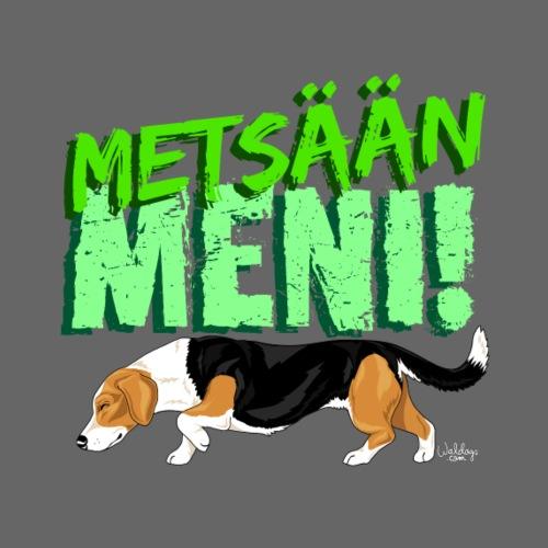 Dreeveri Metsään II - Miesten premium t-paita