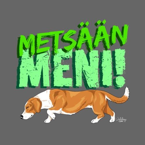 Dreeveri Metsään - Miesten premium t-paita