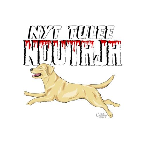 Labbis Noutaja Tulee - Miesten premium t-paita