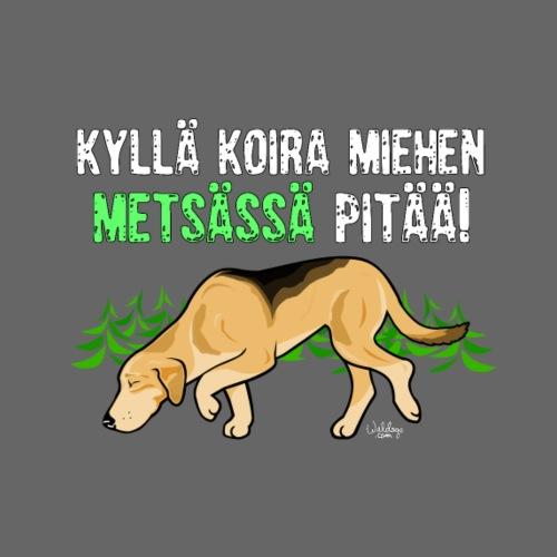 Venäjänajokoira Metsässä II - Miesten premium t-paita
