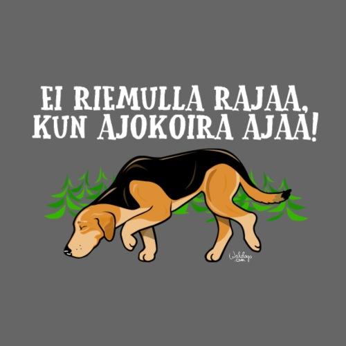 Venäjänajokoira Riemu II - Miesten premium t-paita