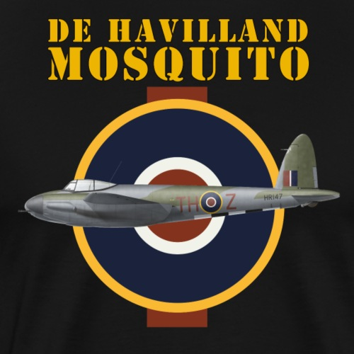 de Havilland Mosquito - Men's Premium T-Shirt