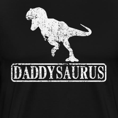 Daddy Saurus - Papa Dinosaurier T-Rex - Männer Premium T-Shirt