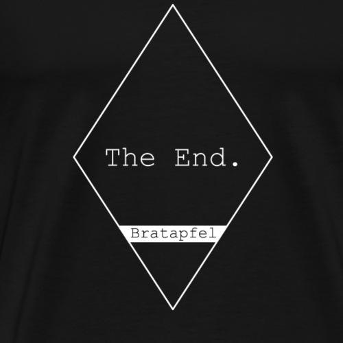 Bratapfel The End - Männer Premium T-Shirt