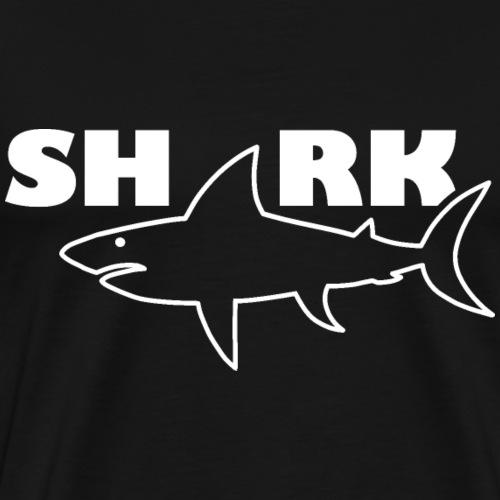 Shark   Hai Fisch - Männer Premium T-Shirt