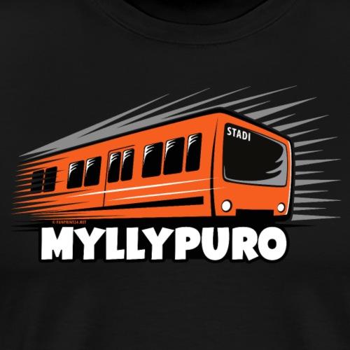05 - METRO MYLLYPURO - HELSINKI - LAHJATUOTTEET - Miesten premium t-paita