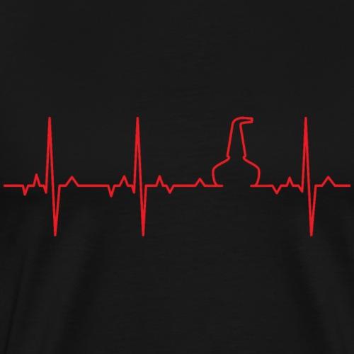 ECG Whisky Pot Still - Men's Premium T-Shirt