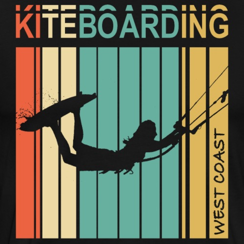 Kiteboarding WEST COAST - T-shirt Premium Homme
