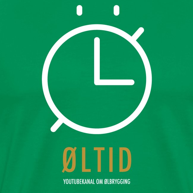 ØLTID logo hvit