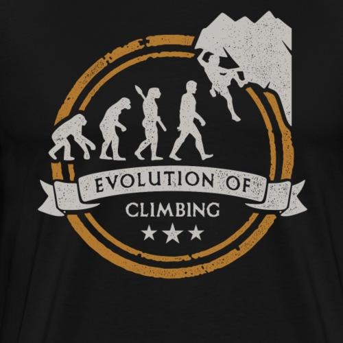 Evolución Del Escalador De Montaña