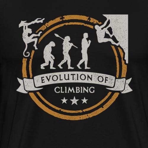 Evolución Del Escalador Montañas