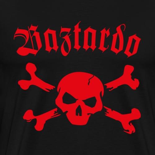 BAZTARDO - Skull - Männer Premium T-Shirt