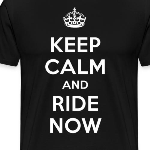 KEEP CALM RIDE - T-shirt Premium Homme