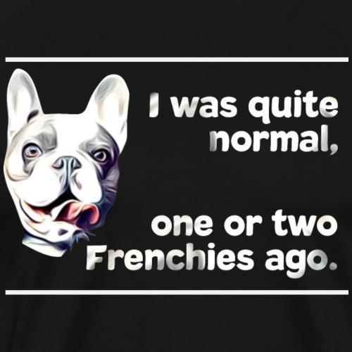 Französische Bulldogge Frenchie french bulldog - Männer Premium T-Shirt