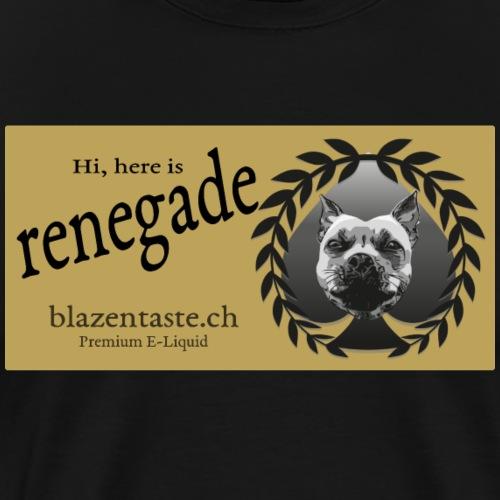 cloths renegade - Männer Premium T-Shirt