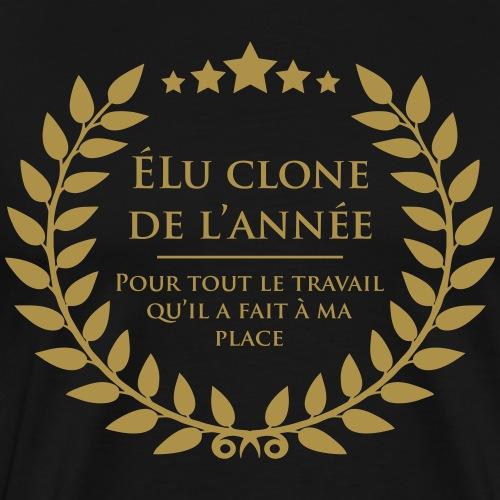 Elu clone de l'annee - T-shirt Premium Homme