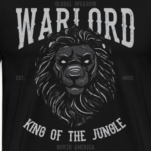Löwe König des Dschungels - Männer Premium T-Shirt