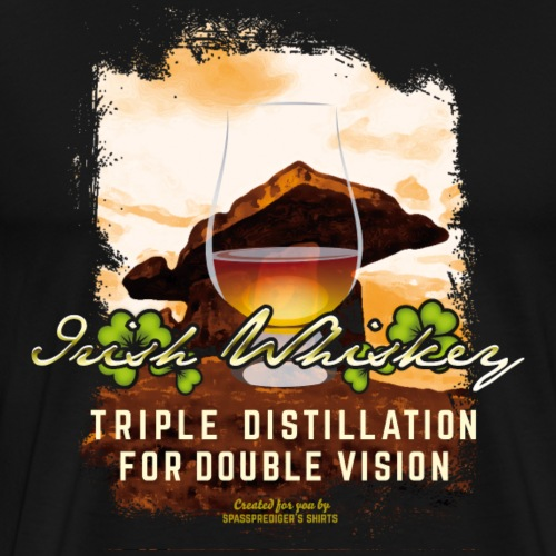 Whisky T Shirt Irish Whiskey - Männer Premium T-Shirt