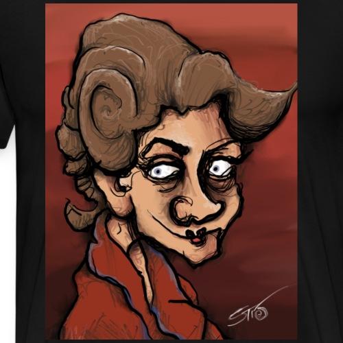 Froanna The Artist's Wife - after Wyndham Lewis - Men's Premium T-Shirt