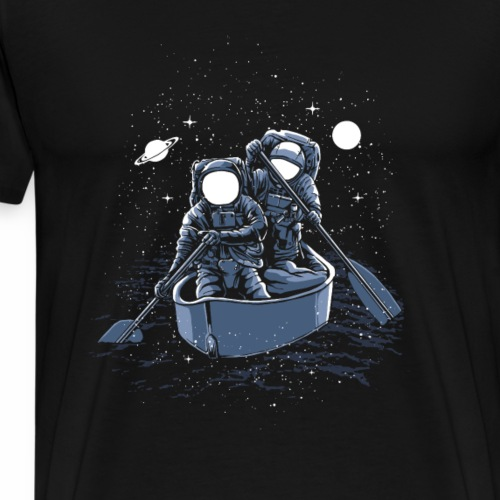 Across The Galaxy - Männer Premium T-Shirt