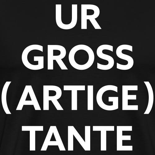 Tante | White - Männer Premium T-Shirt