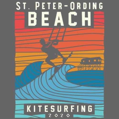 Kitesurfing St. Peter Ording - Männer Premium T-Shirt