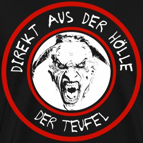 Teufel Hölle Shirt Geschenk - Männer Premium T-Shirt