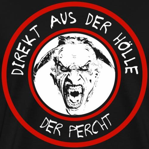 Percht Hölle Shirt Geschenk - Männer Premium T-Shirt