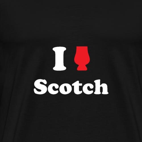I Love Scotch - Men's Premium T-Shirt