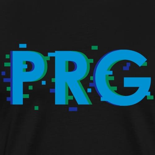 PRG distorted Neon Design 2 PP [Konvertiert].ai - Männer Premium T-Shirt