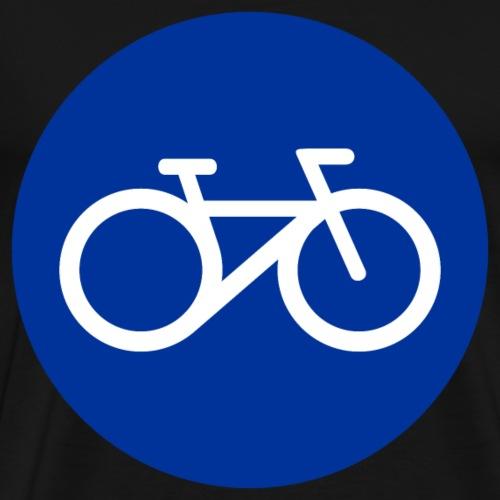 Cooles minimalistisches Fahrrad Fitness Workout - Männer Premium T-Shirt