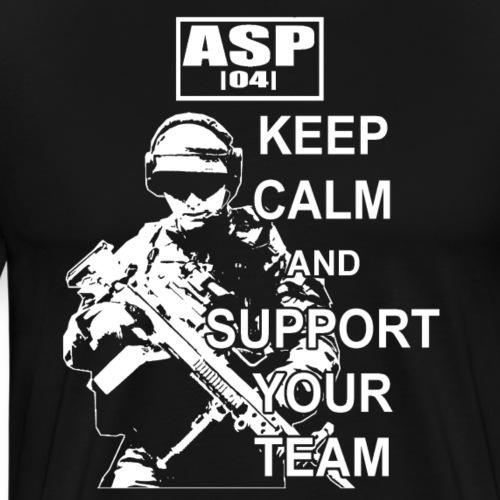Keep Calm ASP 01 White - T-shirt Premium Homme