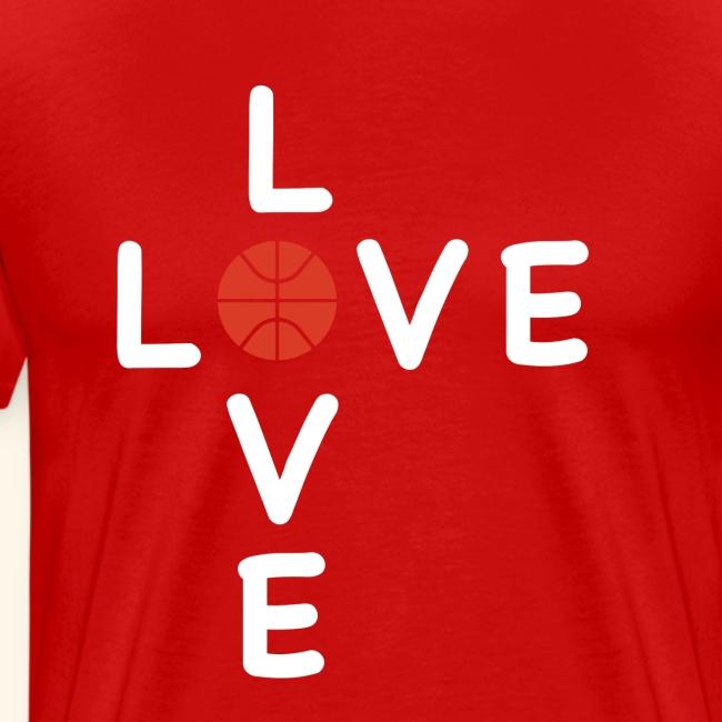 LOVE Cross basketball red 001