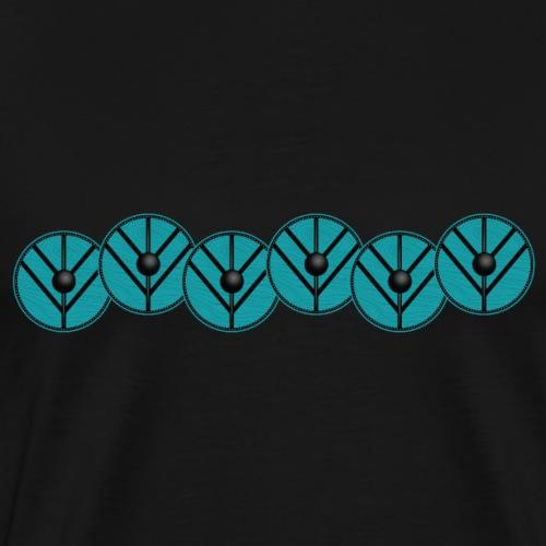 Schildwall2 - Männer Premium T-Shirt