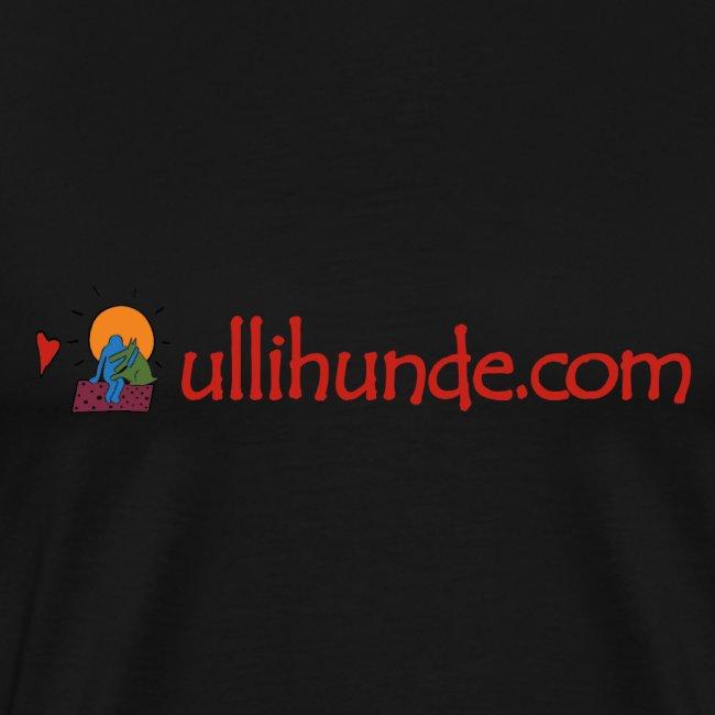 Ullihunde Schriftzug mit Logo