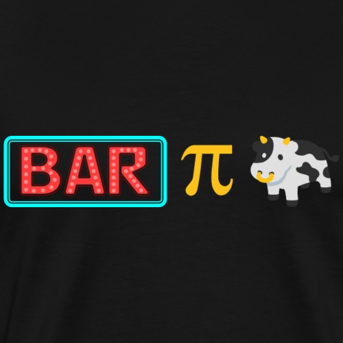 Bar-Pi-Kuh - Männer Premium T-Shirt